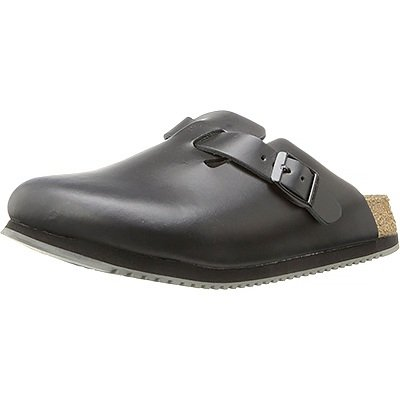 Birkenstock Unisex Professional Boston Super Grip Leather Slip Resistant Work Shoe