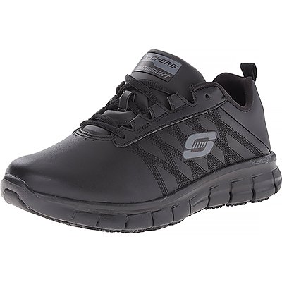 Skechers For Work Women's Sure Track Erath Athletic Lace Slip-Resistant Boot