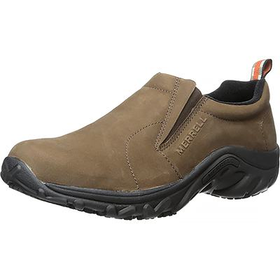 Merrell Men's Jungle Moc Pro Grip Nubuck Slip-Resistant Work Shoe
