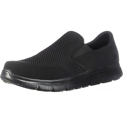 Skechers for Work Men's Flex Advantage Slip-Resistant Mcallen Slip-On