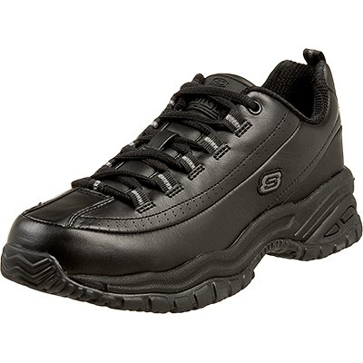 Skechers for Work Women's Soft Stride Softie Slip Resistant Lace Up