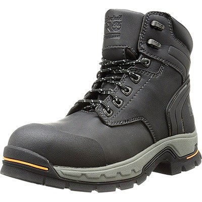 Timberland PRO Men's 6'' Stockdale GripMax Alloy Toe Work and Hunt Boot