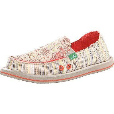 Sanuk Women's Scribble Flat