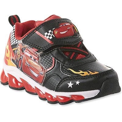Disney Toddler Boys' Lightning McQueen Sneaker, Light-up