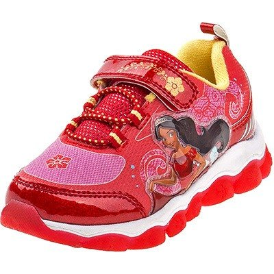 Josmo Disney Girl's Light Up Elena Of Avalor Sneaker (Toddler, Little Kid)