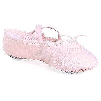 STELLE Girls Canvas Ballet Slipper-Yoga Dance Shoe