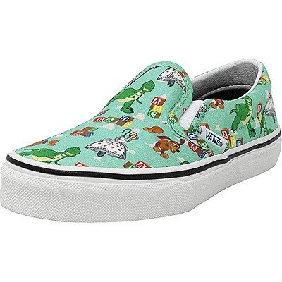 Vans Kids Classic Slip On Andy's Toys Disney Pixar Toy Story Movies Shoes